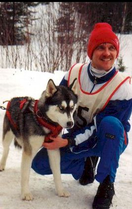 Sled dogs led him and his wife debi to live the country life in