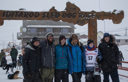 SUNDAY JUST BEFORE 12:30PM Kaci Murringer crossed under the burled arch in Nome to cap off what has been an eventful running of this year's Iditarod sled dog race.