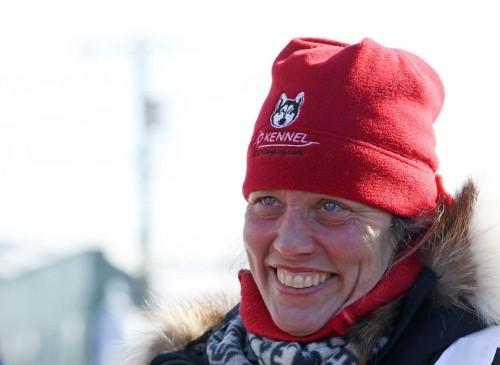 Two Rivers musher Aliy Zirkle, seen in a file photo, will be starting her 21st and  final Iditarod Trail Sled Dog Race this afternoon in Deshka Landing.   ERIN CORNELIUSSEN/FAIRBANKS DAILY NEWS-MINER